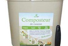 Ecovi Kit compostador de Cocina 20L +Activador 1kg