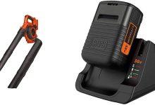 Black+Decker - Soplador-aspirador-triturador 36V + BLACK+DECKER BDC2A36-QW - Pack batería de litio 36V 2Ah y cargador