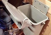 YukChuk Contenedor de Compost para Interior 45 L