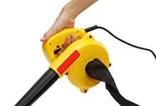 Cacoffay 900W Potente soplador de Aire del Aspirador portátil Turbo Ventilador eléctrico Ordenador Personal Polvo removedor Hoja de colección