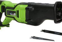 Reseña Sierra eléctrica portátil pequeña para carpintería doméstica profesional Greenworks Tools