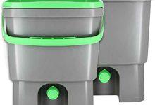 Organico Bokashi Eimer Starter Set Organico Bokashi Cubo para residuos de Cocina