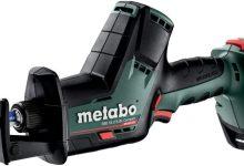Análisis Sierra de Sable Motor sin escobillas a batería Metabo