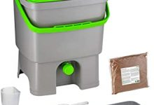 Skaza Exceeding Expectations. Bokashi Compostador para Cocina de Plástico Reciclado