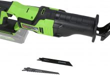 Reseña Sierra de Sable eléctrica inalámbrica profesional Greenworks Tools