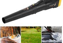 Soplador de hojas, Soplador de hojas eléctrico de invernadero Máquina de soplado de jardín Accesorios para herramientas de jardinería Enchufe de la UE 220V Barredora/Aspiradora para hoja de soplado