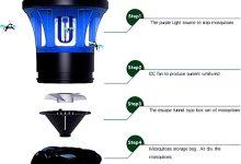 Lámpara Antimosquitos LED Eléctrica FACAI&SU