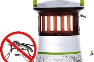 repelente electrico insectos, Matamoscas Zapper, Raqueta Eléctrica Plagas, Repelente electrico
