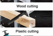 Reseña Sierra eléctrica portátil pequeña para carpintería doméstica Ecisi