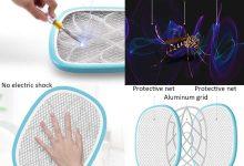 Zapper electrónica Mosquitos Li-Cakus