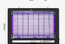 Lámpara LED Mata Insectos Eléctrica CSQHCZS-QWQ