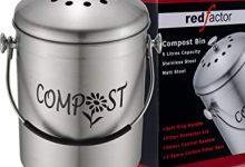 RED FACTOR Cubo Reciclaje de Cocina para Compost