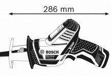 Análisis Profesional de batería Sierra de sable Bosch