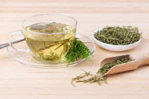 Cola de caballo, planta medicinal con efecto diurético